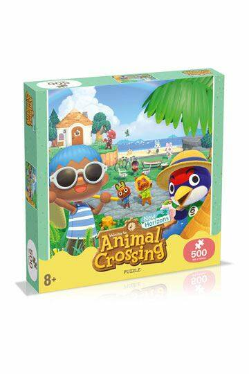 Animal Crossing New Horizons Jigsaw Puzzle Characters (500 pieces) ( GS14344 )