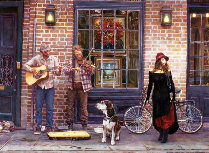 The Sights and Sounds of New Orleans -  Puzzle 2,000 pieces Gs14998