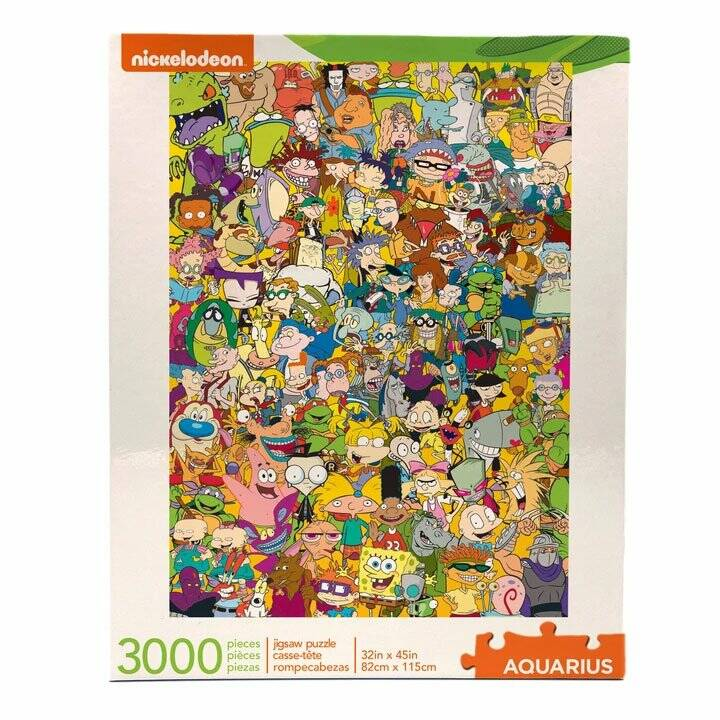 Nickelodeon Jigsaw Puzzle Cast (3000 pieces) Gs15177