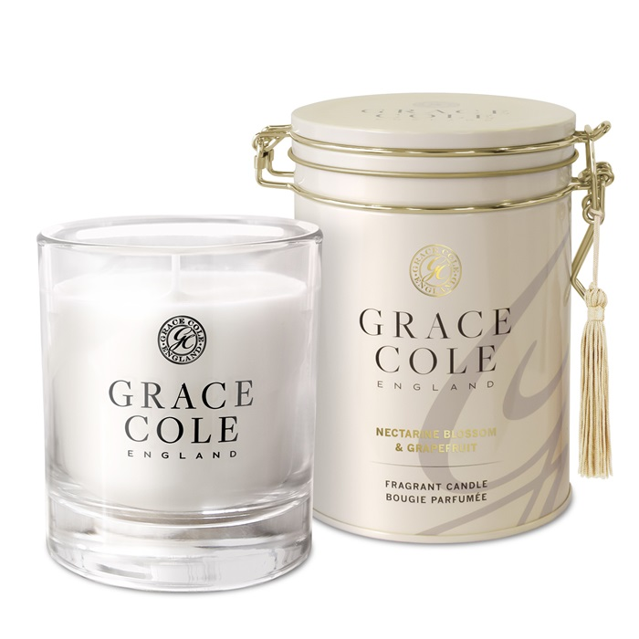 GRACE COLE - CANDLE 200g - Nect.Blossom&Grapefruit