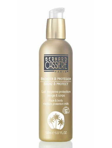 Lait moyenne protection visage & corps SPF20