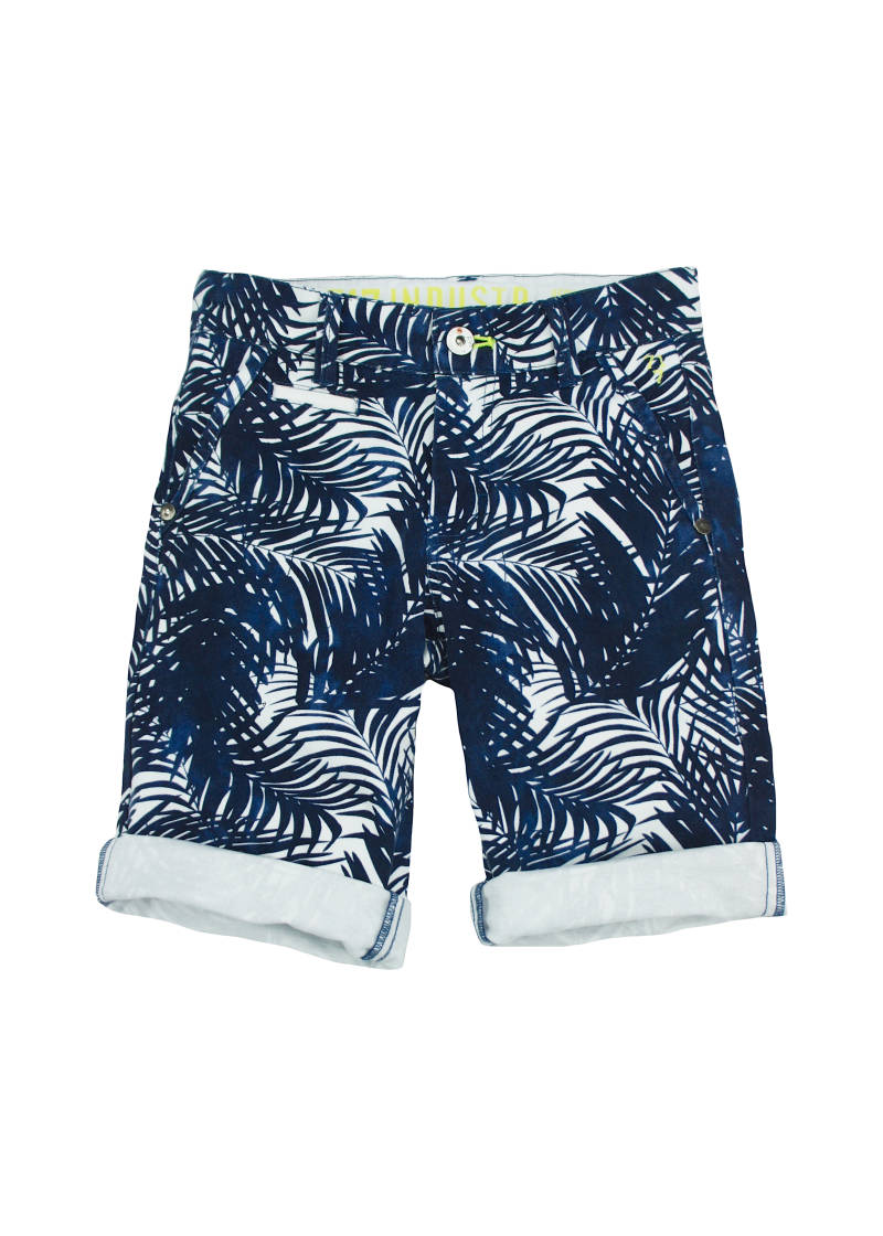 Short Blad  - Marineblauw 717