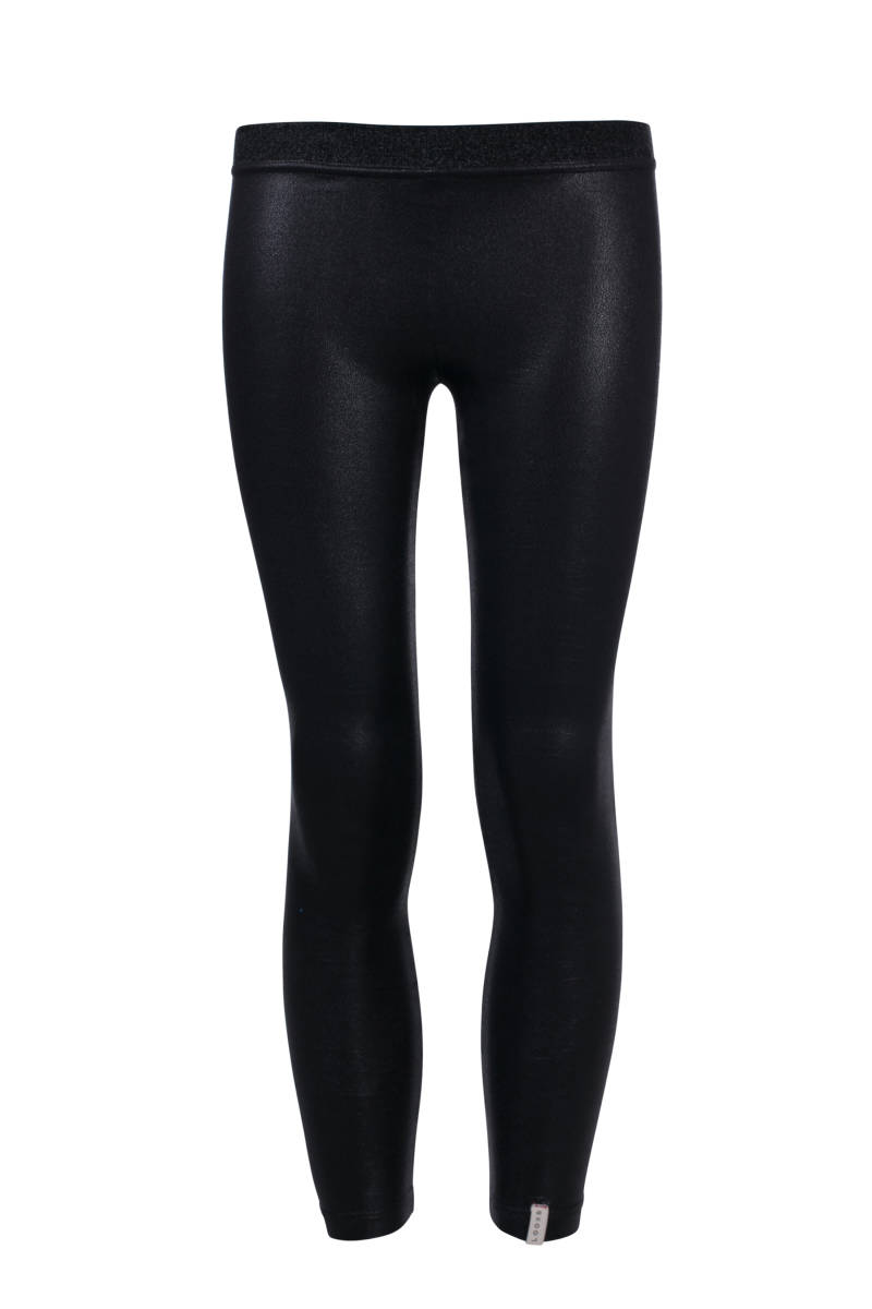 Legging Coated - zwart