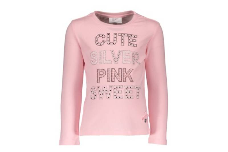 "T-shirt ""cute, silver"" - Roze - Le chic"