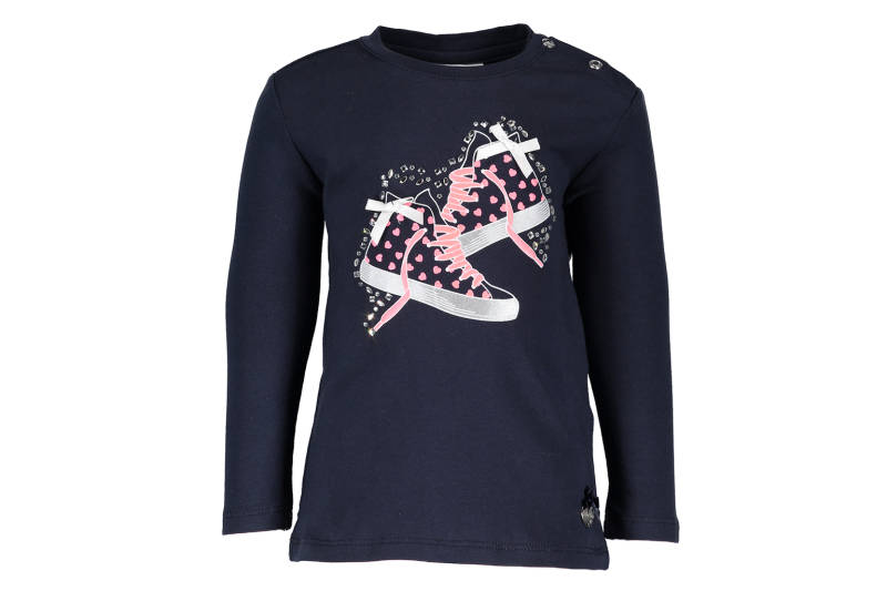 T-shirt sneakers - Marineblauw - Le chic