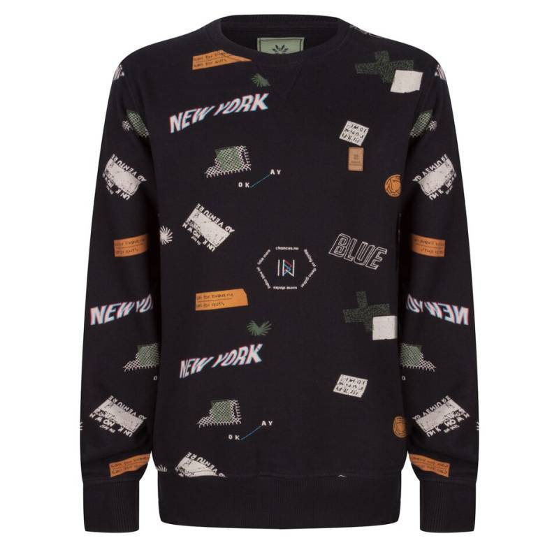 Sweater New York - Zwart