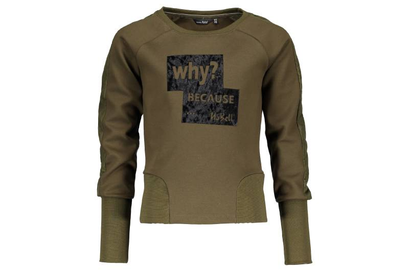 "Sweater ""why? Because"" - Kaki"