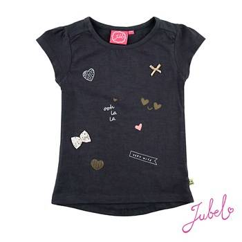 T-shirt - Antraciet Jubel