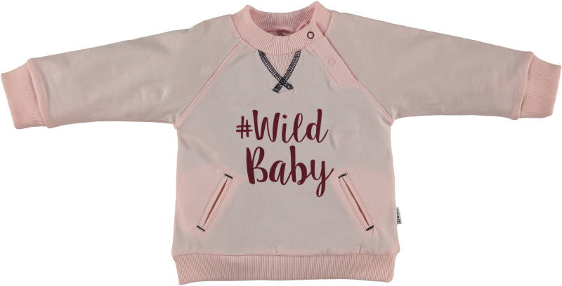 "Sweater "" Wild Baby"" - Roze"