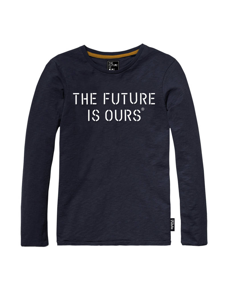 "T-shirt ""the future is ours"" - Marine"