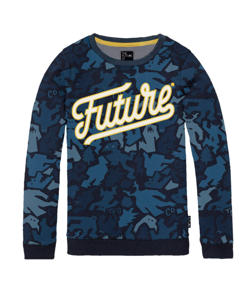 "Sweater ""Future"" - Donkerblauw"