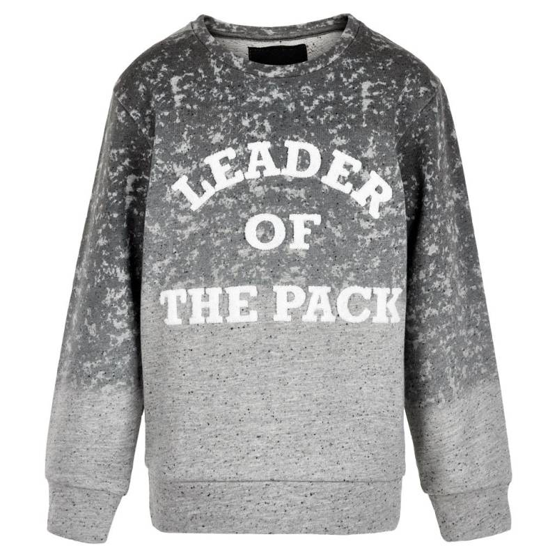 "sweater ""leader of the pack""- Grijs"