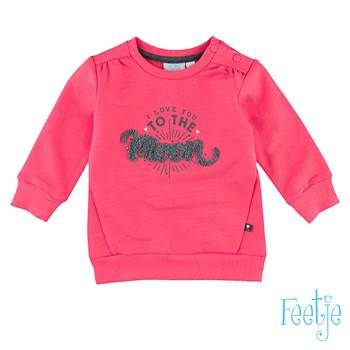 "Sweater ""to the moon"" - Roze"