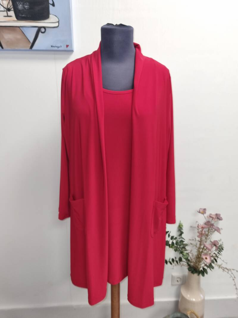 Only M Snooze vest Rood