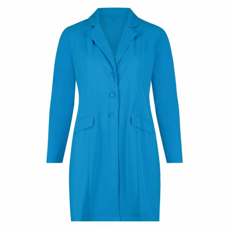 Plus Basic Blazer Aqua en