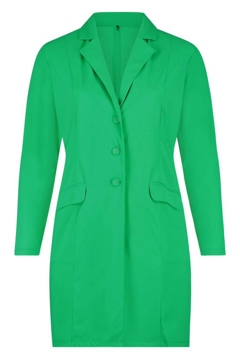 Plus Basic Blazer Green
