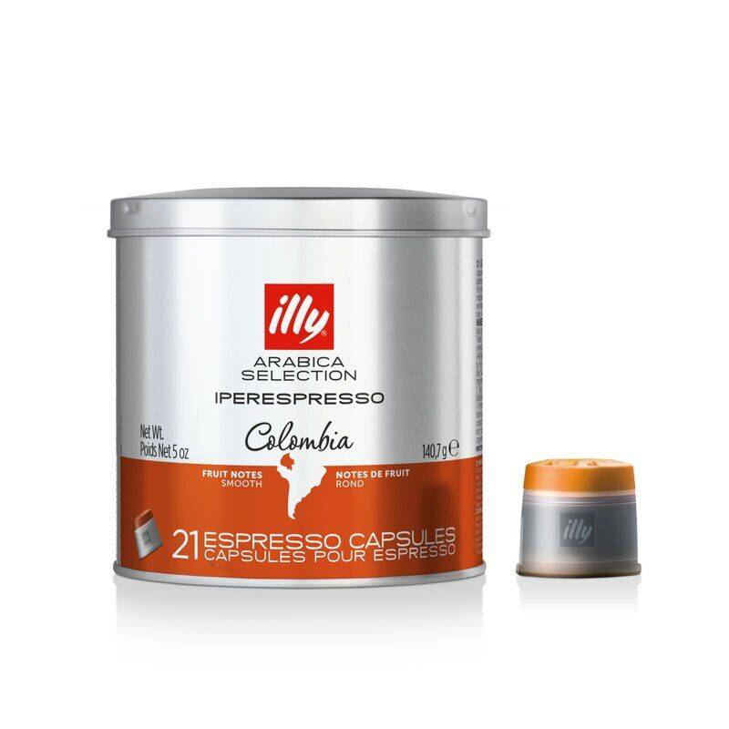Illy capsule Colombia