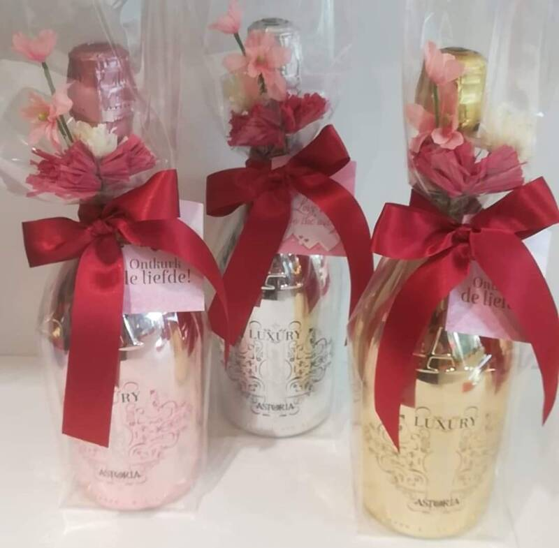Spumante in luxe fles