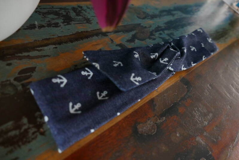 STOCKVERKOOP - Twistbandana Ankers Denim