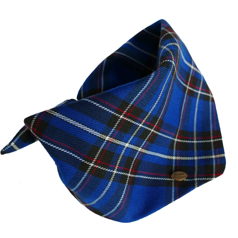 Dogbandana - SCOTTISH BLUE -