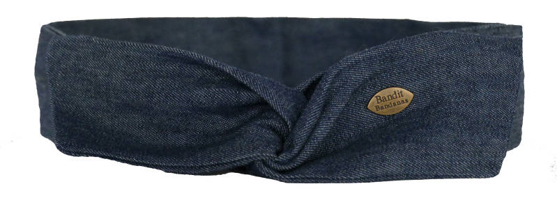 Haarband Dark Denim - Twistbandana Demi