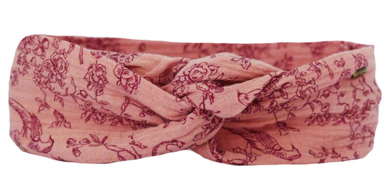 Sold Out - Haarband Romantica Roze - BigBandana Julia
