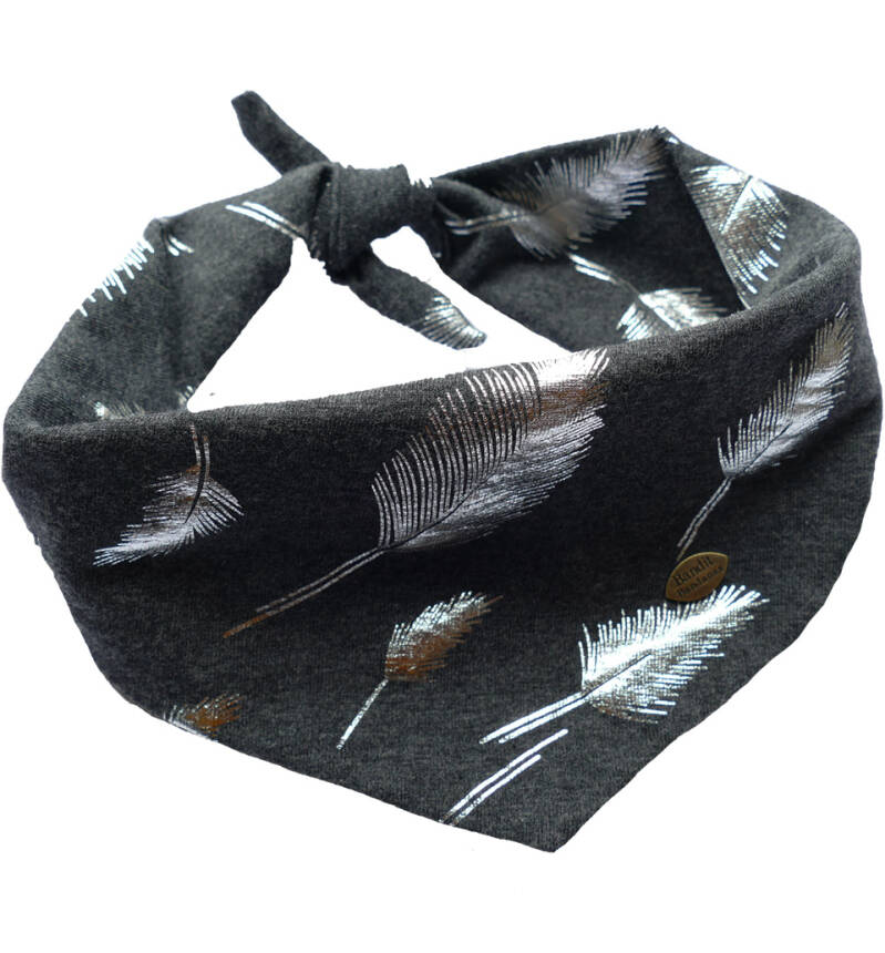 NEW - Dogbandana Silver Leaves - Bandana Janske