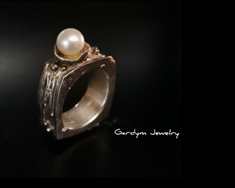 Ring  -  square collection - 80050