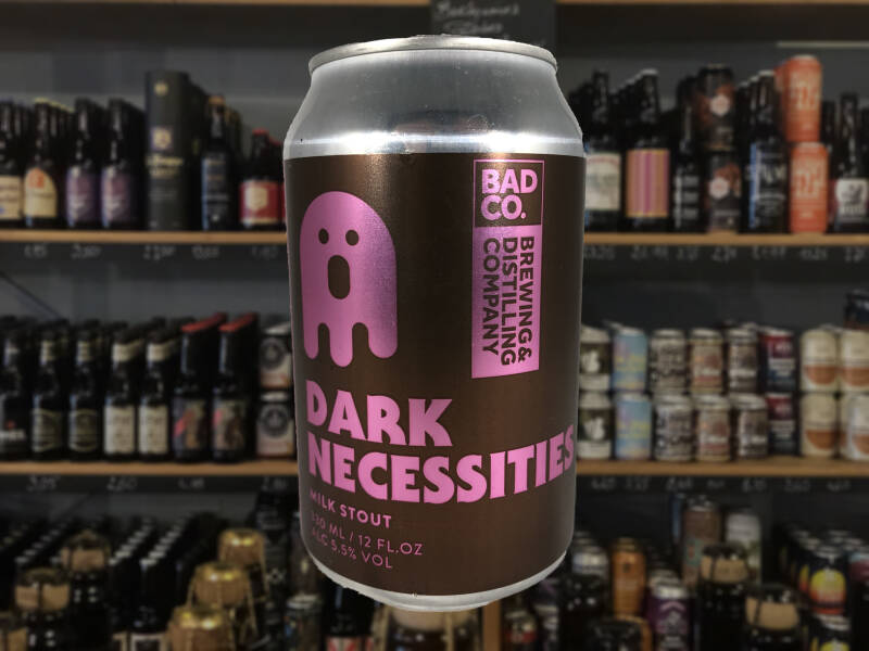 Bad Co. Dark Necessities |  Pastry Stout