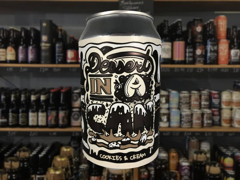 Amundsen | Dessert In A Can - Cookies & Cream | Pastry Stout