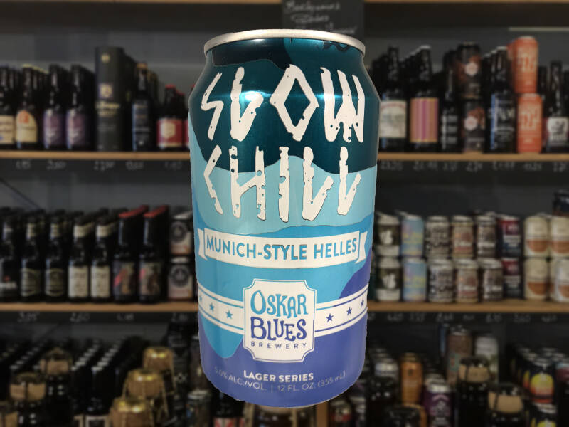Oskar Blues Slow Chill Helles | Lager