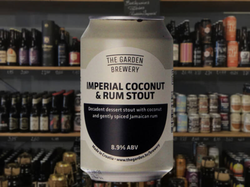 Garden Brewery  | Imperial Coconut & Rum Stout | Pastry Stout
