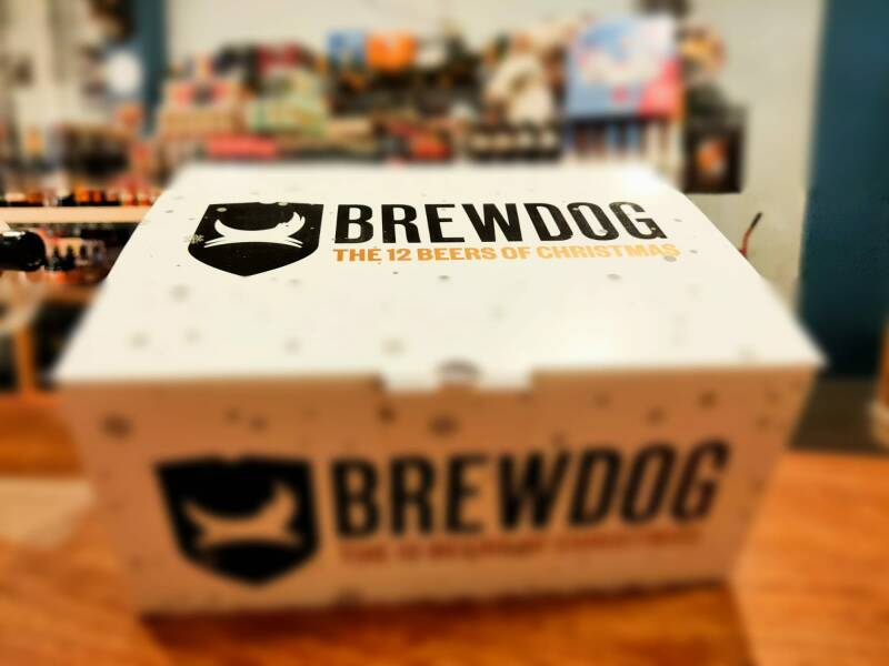 Brewdog's Christmas box