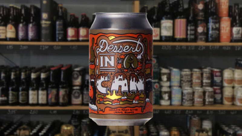 Amundsen Dessert in a Can Chocolate Peanut Brownie | Pastry Stout