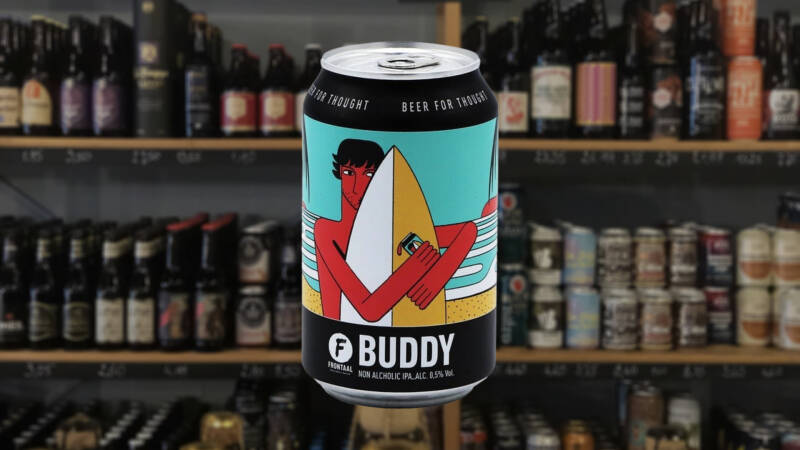 Frontaal | Buddy | Alcoholarm