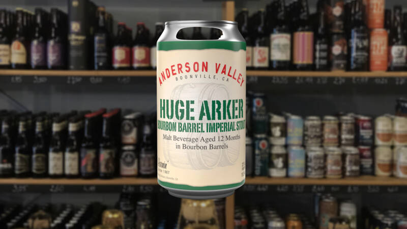 Anderson Valley Huge Arker Bourbon BA Imperial Stout | Stout