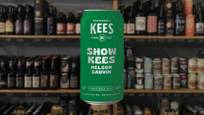 Kees   Showkees Nelson sauvin editie.  IPA