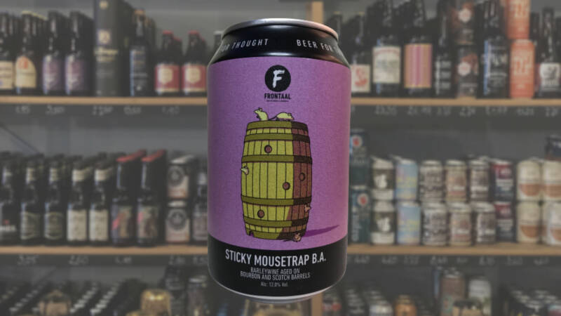 Frontaal   Sticky Mousetrap   Barrel Aged