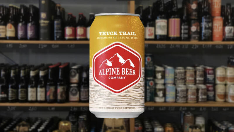Alpine Beer Company Truck Trail | Blond