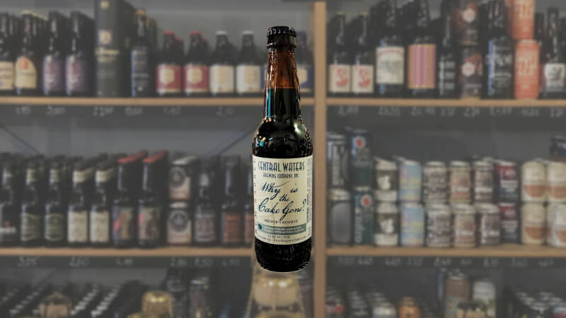 Central Waters | Brewer's Reserve Why is the Cake Gone? | Porter