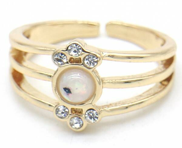 Ring Layer Cristal - goud