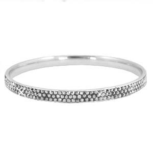 Armband Bling - zilver/grey