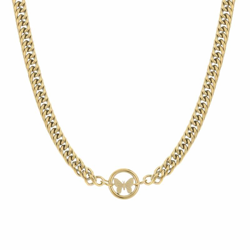 Ketting Butterfly of chain - goud