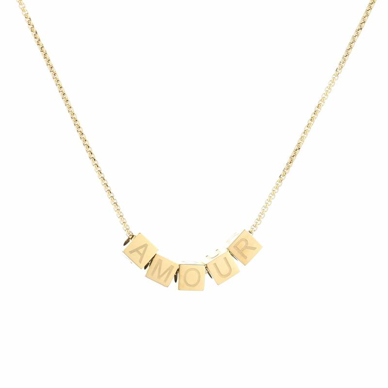 Ketting Amour - goud