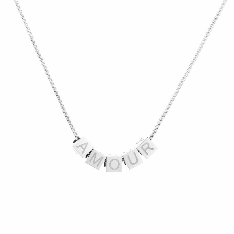 Ketting Amour - zilver