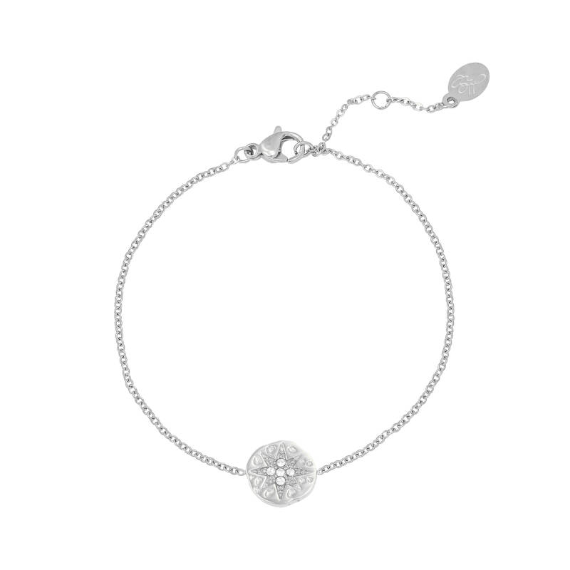 Armband All that glitter - zilver
