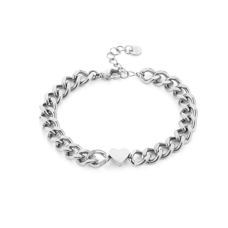 Armband Chain of love - zilver