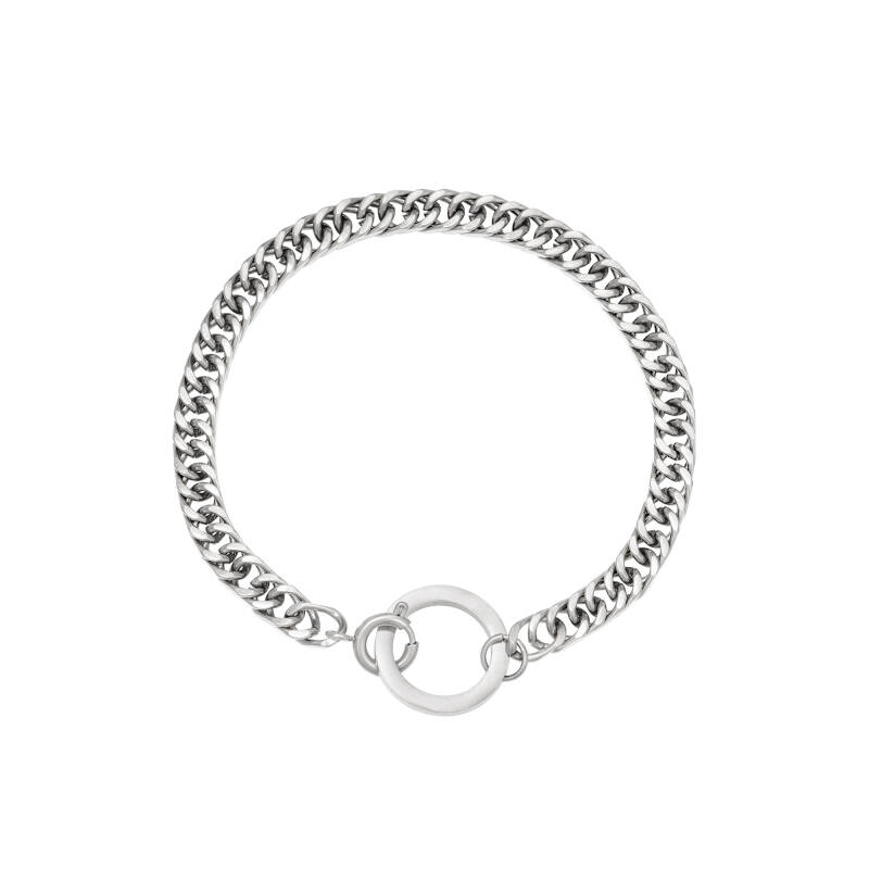 Armband Connect - zilver