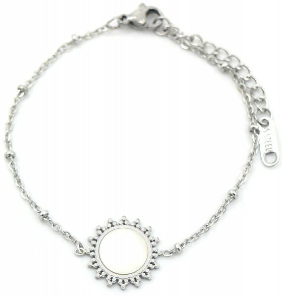 Armband Mother of pearl - zilver