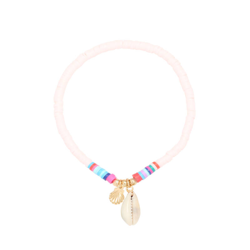 Armband Perfect storm - baby roze/goud